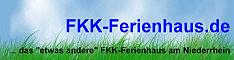 Banner des fkk-ferienhaus.de - das fkk-ferienhaus in Hamminkeln-Mehrhoog ... das 'etwas andere' Ferienhaus am Niederrhein